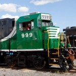 Norfolk Southern 999 Battery Locomotive