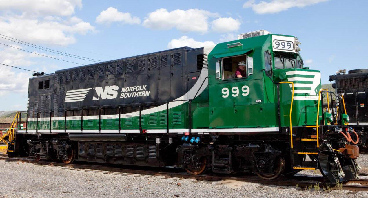 Norfolk Southern 999 Battery Locomotive