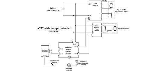 Battery Vehicle Schematic